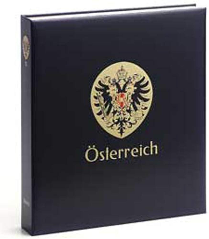 DAVO 7233 Luxus Briefmarken-Album sterreich III 1970-1989