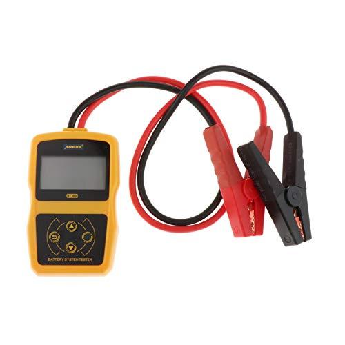prasku Probador de Batería de Coche de Vehículos Herramienta Analizadora de Prueba de Arranque de Carga 100-2400CCA