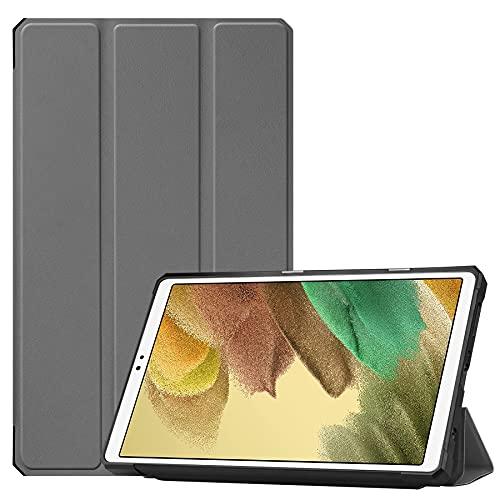 Case2go - Funda para Samsug Galaxy Tab A7 Lite - 8.75' - Funda de TPU para libro Tri-Fold - Gris