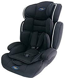 Convertible 1/2/3 car seat - suitable from 9 months to approximately 12 years (9-36 kg) Side impact protection and epp energy absorbing foam, thick padding Fully tested in compliance with the current european safety standards ece r44/04 Converts to b...