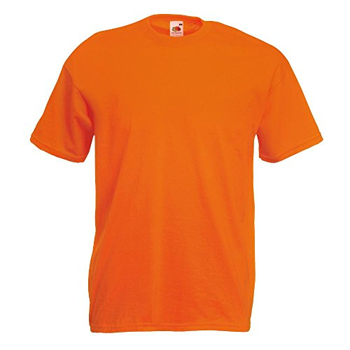 Fruit of the Loom - Classic T-Shirt \'Value Weight\' XXL,Orange