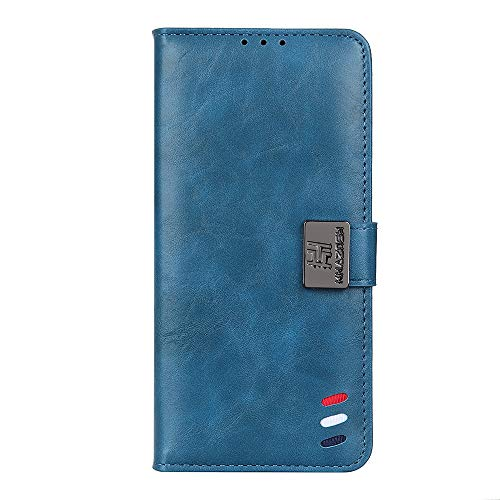 SHIEID para Samsung Galaxy A32 4G Funda [Cierre Magnético] Carcasa de Cuero PU Cartera Billetera [Soporte]+[Tarjetas Ranuras] Funda para Samsung Galaxy A32 4G, Azul