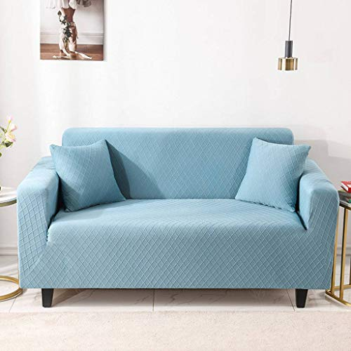 Stretch Sofa Covers 1 2 3 4 Seater Couch Covers for Living Room Sofa Slipcovers, Soft Thick Jacquard Fabric Washable, with Two Pillowcases-I-4 Seater