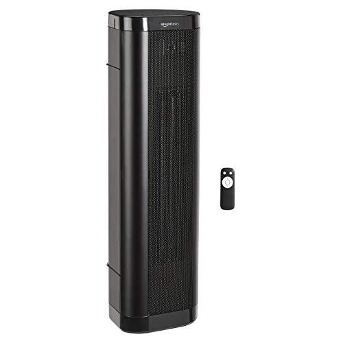 calefactor torre de la marca AmazonBasics