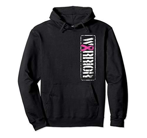 Breast Cancer Awareness Hoodie - Warrior Ribbon