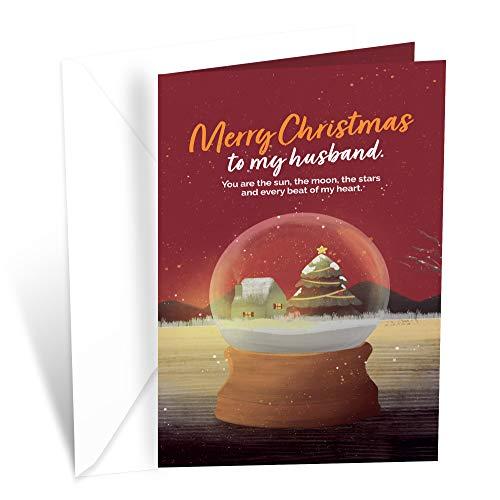 Prime Greetings Christmas Card Husband