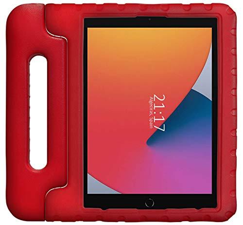 Funda Infantil Antigolpes con Asa para iPad 10.2 (2020) 8ª Gen. / (2019) 7ª Gen. Color Roja