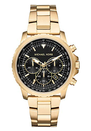 Michael Kors Reloj Cronógrafo para Hombre de Cuarzo con Correa en Acero Inoxidable MK8642