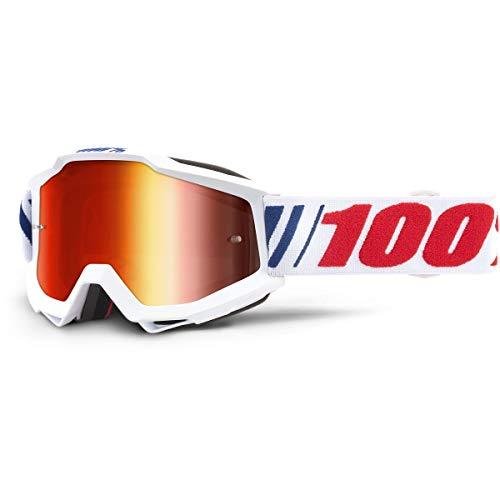 100% Kids Crossbrille Accuri Weiß