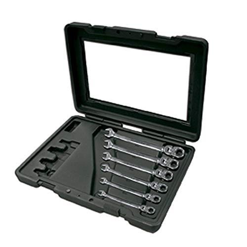 Ega-master 68526-6pcs impostati. adattatori chiavi mastergear articolati