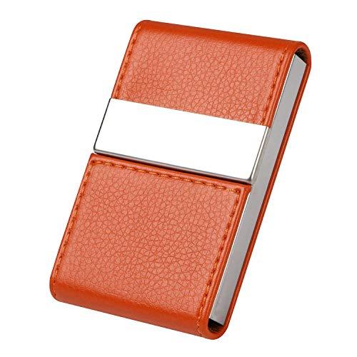 women slim leather card case