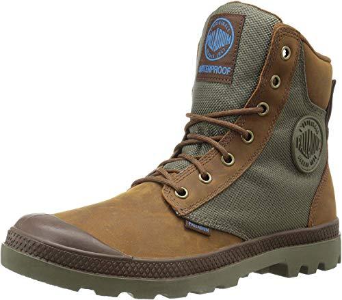 Palladium Unisex-Erwachsene Pampa Sport Cuff Wpn Combat Boots, Braun (207), 44 EU
