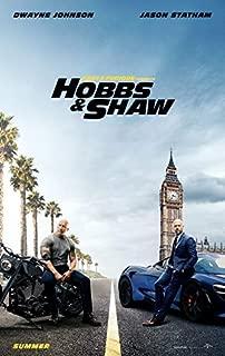 映画 ワイルド・スピード/スーパーコンボ 約90cm×60cm シルク調生地のアートポスター 05 ワイルドスピード Fast & Furious Hobbs & Shaw