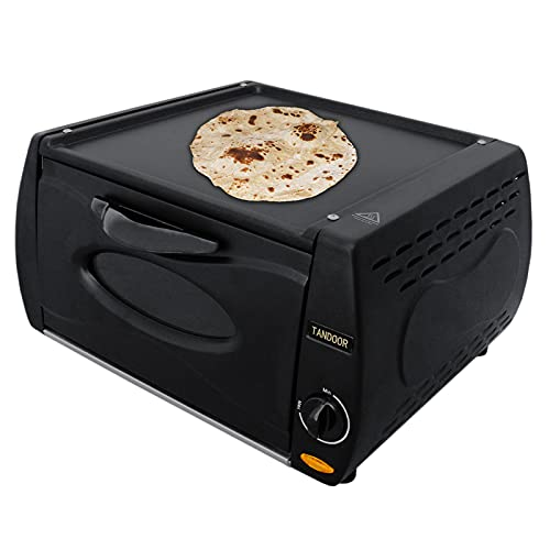 Mini Horno Tandoor Chapati Roti Lahmacun Manakish Pizza Naan Máquina para Pan Eléctrico