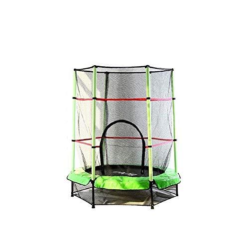 LJALL'STORE eenvoudige montage ruime rechthoekige trampoline met behuizing functie