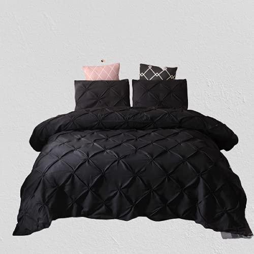 Ropa De Cama Textiles para El Hogar Patrón De Flores Hecho A Mano Funda Nórdica De Color Puro Simple Elegante Y Duradera 200x230cm