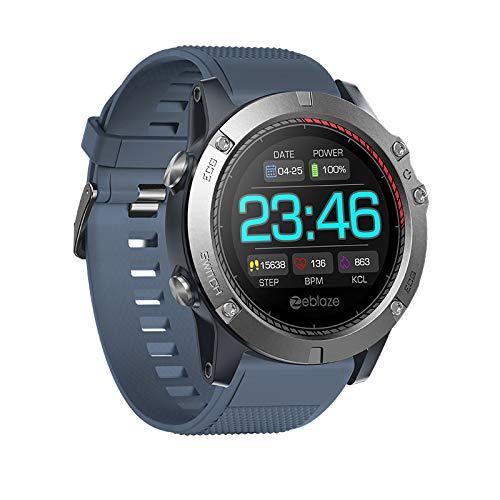 YAOUFBZ Reloj Inteligente,Monitor de frecuencia cardíaca Reloj de Seguimiento de Actividad física con Contador de Pasos Monitor de sueño,Monitor de Actividad de Pantalla a Color Reloj podómetro
