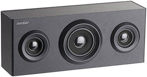 auvisio Lautsprecher, Bluetooth: 2.1-Regal-Holzlautsprecher mit Bluetooth, Subwoofer & Akku, 12 Watt (Regal-Lautsprecher)