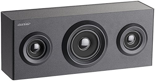 auvisio Regallautsprecher: 2.1-Regal-Holzlautsprecher mit Bluetooth, Subwoofer & Akku, 12 Watt (Lautsprecher Holz, Bluetooth)