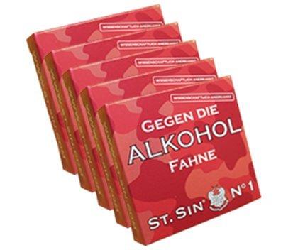 ST.SIN Nr. 1 gegen die Alkoholfahne