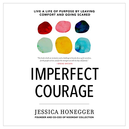 Imperfect Courage audiobook cover art