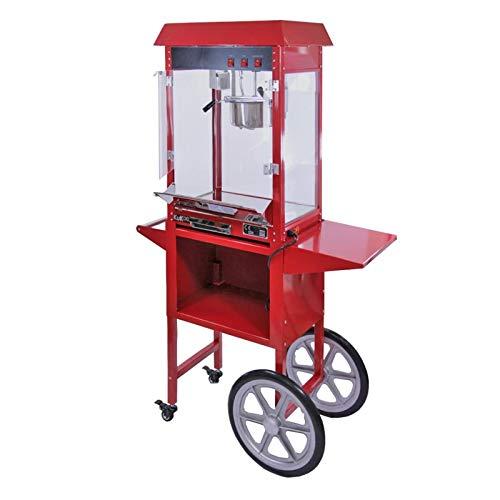 YFGQBCP palomitero Máquina de Palomitas 8 oz Gran máquina de Palomitas de maíz Comercial con la Compra coincidente
