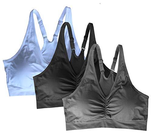 Cabales KINYAOYAO Women's Plus Size Sport Bra