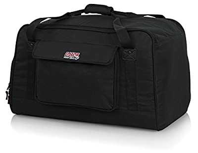 "Gator Cases Heavy-Duty Speaker Tote Bag for Compact 12"" Speaker Cabinets; Fits QSC K12, Yamaha DXR12 and more (GPA-TOTE12) by Gator Cases"
