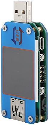Bewinner USB20 BluetoothspanningsstroomtesterType Cinterface voltmetermultimeter144 inch kleurenLCDscherm 6 soorten kleurrijke meetinterfaceLijngroepcontroletool