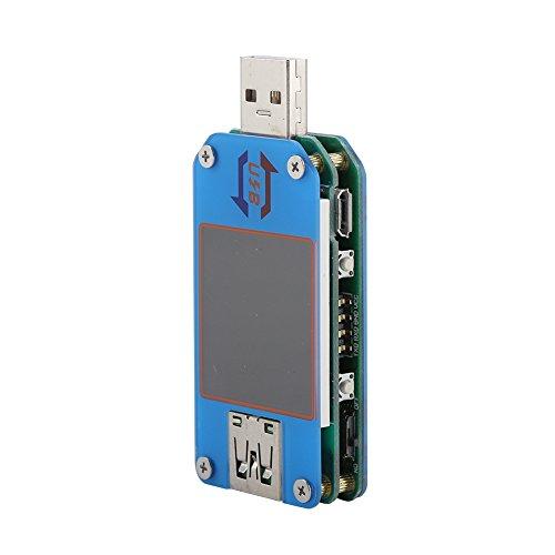 Probador de multímetro USB, pantalla a color de probador USB digital para pruebas de voltaje para pruebas de corriente