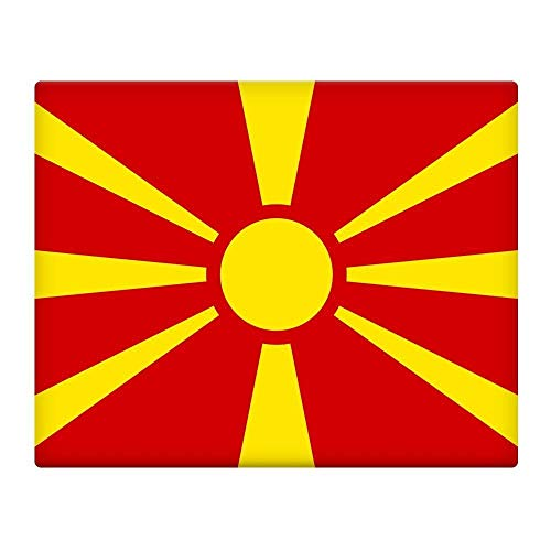 Macedonië Vlag 16X12