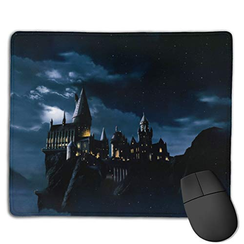 Game Mouse pad Computer Mouse pad Office Mouse pad Smooth Surface Non-Slip Rubber Base Mousepad, 18x22 cm (Harry-Potter)