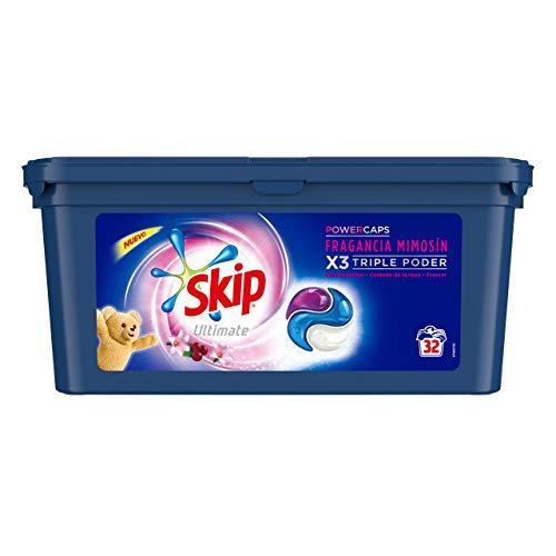 Skip Ultimate 3en1 Detergente Capsulas Fragancia Mimosín 32lav