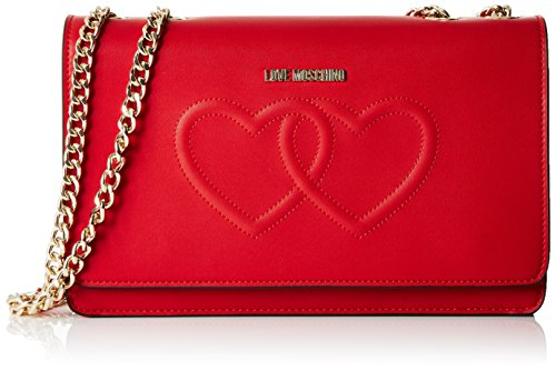 Love Moschino - Moschino, Shoppers y bolsos de hombro Mujer, Rot (Red),...