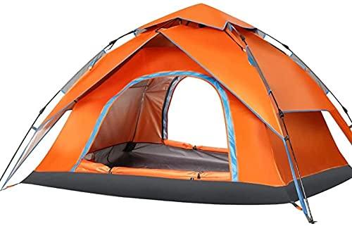 WXHHH Carpas para Acampar albergues Carpas para Acampar emergentes automáticas para 3-4 Personas |Refugio Solar para Tiendas de campaña de Apertura rápida para Acampar en la Playa