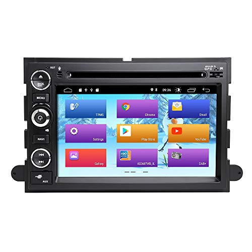 ZLTOOPA Android 9.0 autoradio voor Ford F150 F350 F450 F550 F250 Fusion Expedition Mustang Explorer Edge autoradio DVD-speler GPS met WiFi OBD SWC