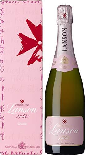 Lanson Rose Label Brut Rosé mit Geschenkverpackung Roséchampagner (1 x 0.75 l)