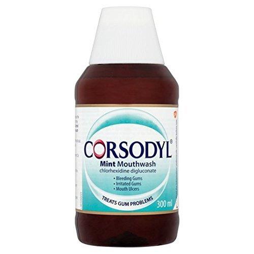 Corsodyl Mint Gum Problem Treatment Mouthwash 300ml