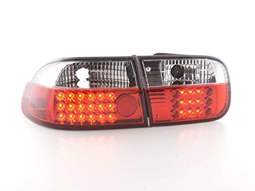 FK Automotive FKRLXLHO011 LED Feux arrière, Rouge