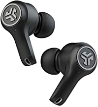 JLab Audio Epic Air ANC True Wireless Bluetooth 5 Earbuds | Active Noise Canceling | IP55 Sweatproof | 12-Hour Battery Life, 36-Hour Charging Case | Low Latency Movie Mode | 3 EQ Sound Settings