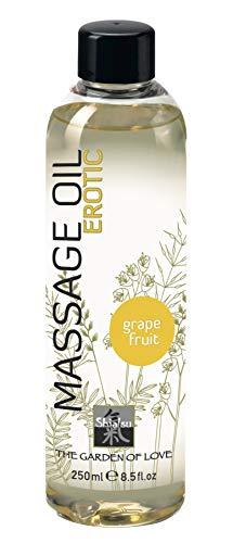 SHIATSU Massage Oil - Erotic Grapefruit, 250 ml