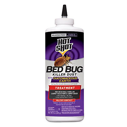 Hot Shot 96446-1 Diatomaceous Earth Bed Bug Treatment, Pack of 6