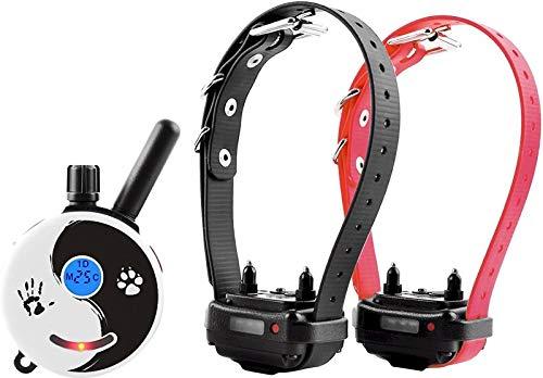 Mini Educator E-Collar ET-300 / ET-302 Dog Training Collar System with Remote - 1/2 Mile Range - WaterProof, Vibration, Tapping, Sensation - includes eOutletDeals Pet Towel (2 Dog System - ET-302 ZEN)