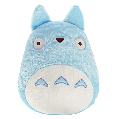 CoolChange Chuu Totoro Kuschel Kissen | Blauer Totoro Sofakissen | 27x40cm