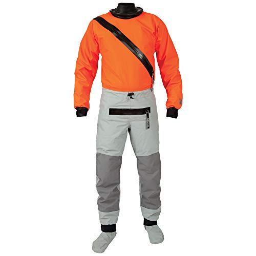 Kokatat Men's Hydrus Swift Entry Drysuit w/Zipper-Tangerine-L