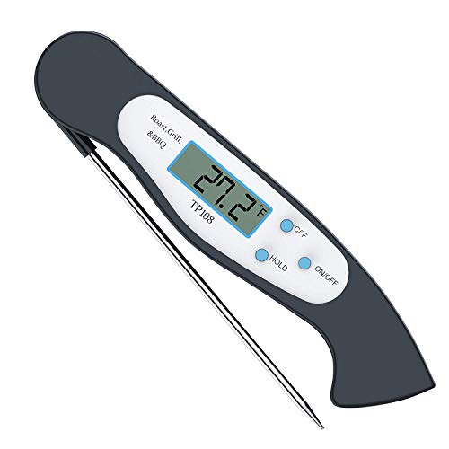 Read About Tyson Instant Read Thermometer Super Fast Digital Electronic Food Thermometer Cooking The...