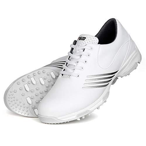 Zapatos de Golf Impermeables para Mujer,Zapatillas de Golf Cómodas Y Transpirables Zapatos...