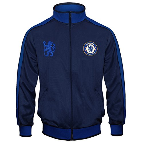 Chelsea Football Club Official Gift Boys Retro Track Top Jacket 8-9 Years MB