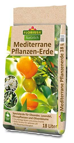 Florissa Mediterrane Pflanzen-Erde 18 l