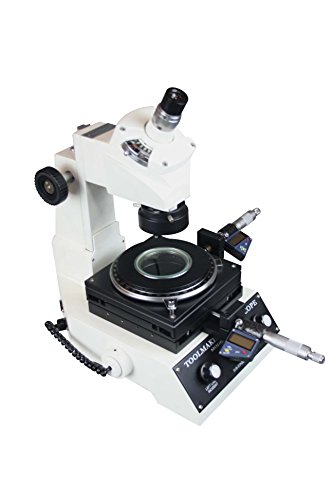 Radical Highly Precise Toolmakers Angle & Linear Industrial Measuring Microscope - Digital Micrometer 1um LED Light